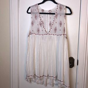 NWT Free People sleeveless top size Med.